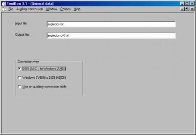 TextDow 3.1 screenshot