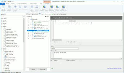 TextPipe Engine 10.7 screenshot