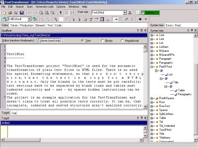 TextTransformer 1.7.5 screenshot