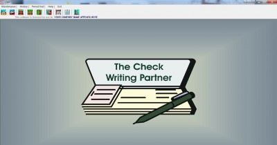 The Check Writing Partner 8.0 screenshot