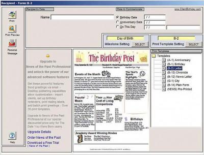 The Date You Were Born 2011a screenshot