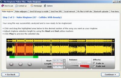 The Ringtone Maker 5.3.1 screenshot