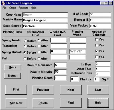 The Seed Program 3.0 screenshot