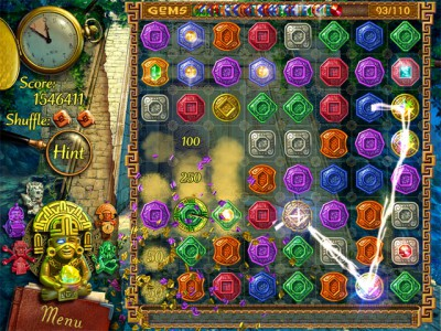 The Treasures Of Montezuma 1.07 screenshot