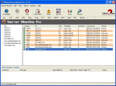 TheOne Server Monitor Lite 3.7.0 screenshot