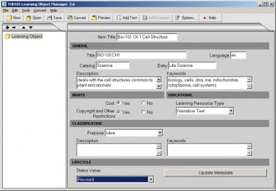 Thesis Professional 2.6 screenshot