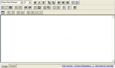 Think HTML Editor Control v 3.9 screenshot