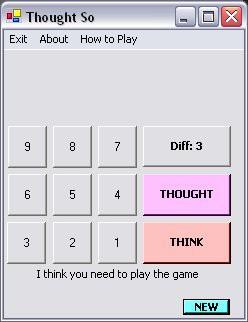 Thought SO! 1.15 screenshot