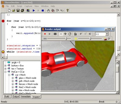 ThreeDimSim:3D Mechanics simulator 1.4.4.0 screenshot