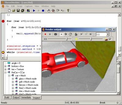 ThreeDimSim:3D Mechanics simulator 1.4.4.0 screenshot