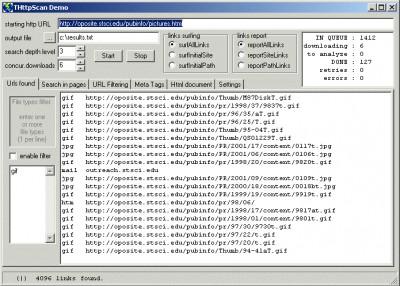 THttpScan 4.8 screenshot