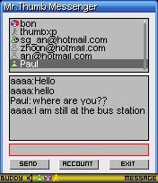 ThumbXP Messenger 1.3.2 screenshot