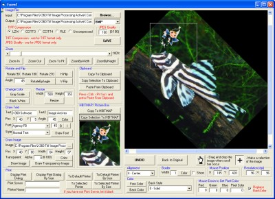Tiff Image Processing ActiveX Control 3.2 screenshot