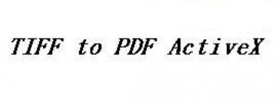 TIFF To PDF ActiveX 2.0.2015.4 screenshot