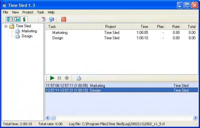 Time Sled 2.2.3 screenshot