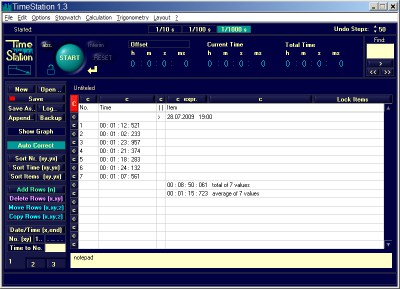 Time Station 1.3 screenshot