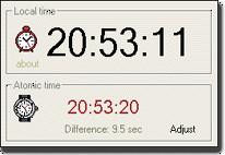 Time Sync Pro 1.2.8538 screenshot