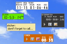 TimeLeft 3.64 screenshot