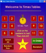 Times Tables v2.3 screenshot
