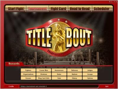 Title Bout Championship Boxing 2.5 screenshot