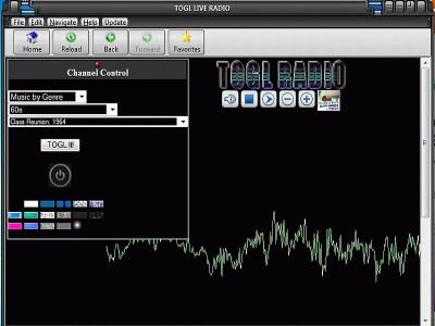 TOGL LIVE Radio Player 1.2.0.1 screenshot