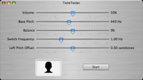 ToneTester 1.1 screenshot