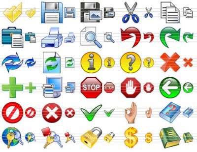Toolbar Icon Set 2012.1 screenshot