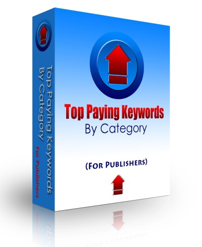 Top Paying Keywords (by category) 3.3 screenshot