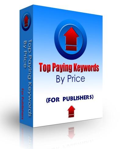 Top Paying Keywords (by price) 3.3 screenshot