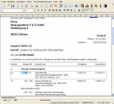 TopKontor 3.1.0.0.9 screenshot