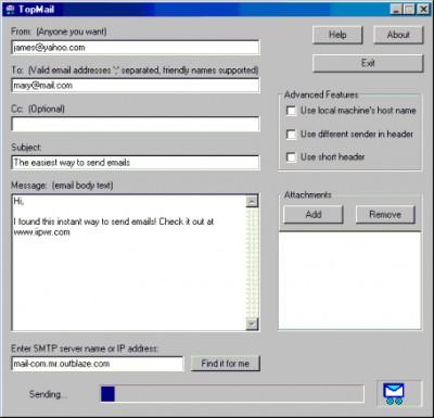 TopMail 2.00 screenshot