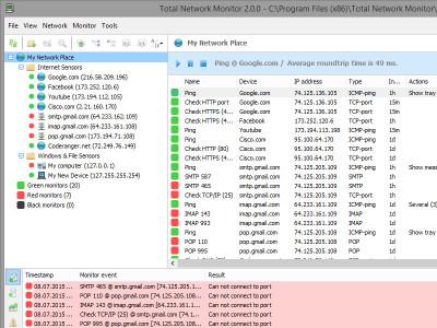 Total Network Monitor 2.3.0 screenshot