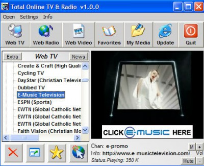 Total Online TV And Radio 1.2.0 screenshot