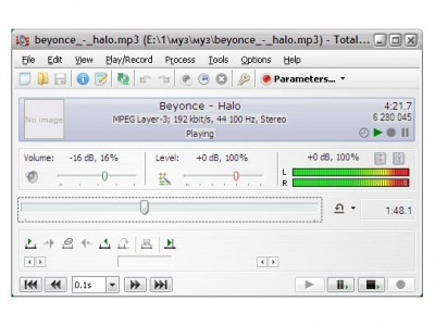 Total Recorder Standard Edition 8.6 screenshot