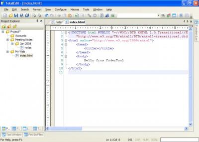 TotalEdit 5.4 screenshot