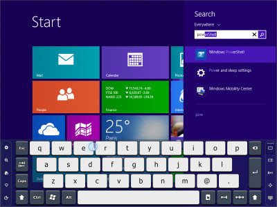 Touch-It - Virtual keyboard 5.14 screenshot