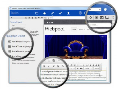 TOWeb 5.13 screenshot