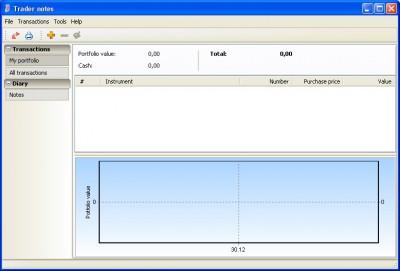 Trader Notes 1.3 screenshot