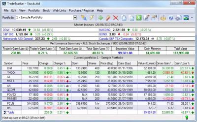 TradeTrakker 3.14 screenshot