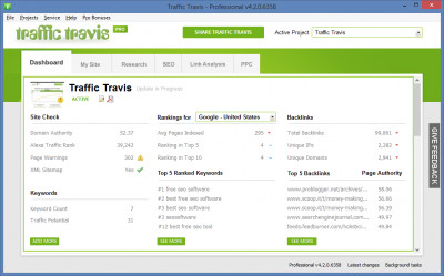 Traffic Travis 4.2.0.7327 screenshot