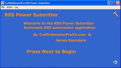 TrafficBoosterPro RSS Submitter 1.5 screenshot