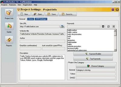 TrafficSeeker - Lite Free Edition 7.0 screenshot