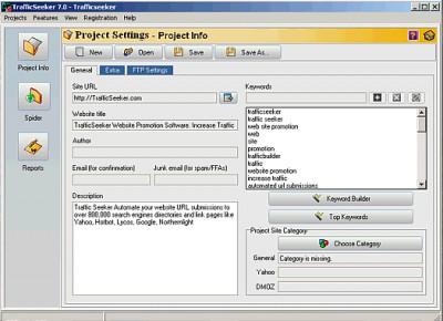 TrafficSeeker 7.0 screenshot
