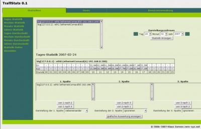 TraffStats 0.11.3 screenshot