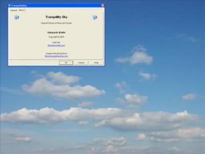 Tranquillity Sky Screen Saver 1.1 screenshot