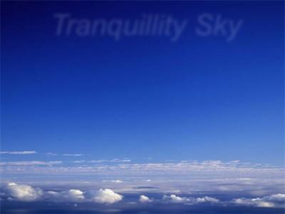 Tranquillity Sky screensaver 1.0 screenshot