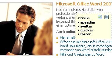TranslateIt! German-English-German 5.5 screenshot