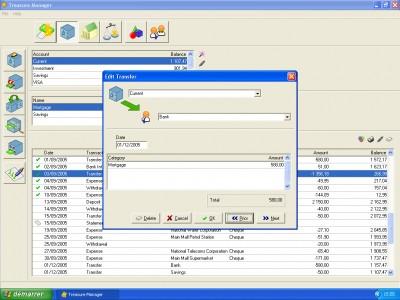 Treasure Manager 1.0 screenshot