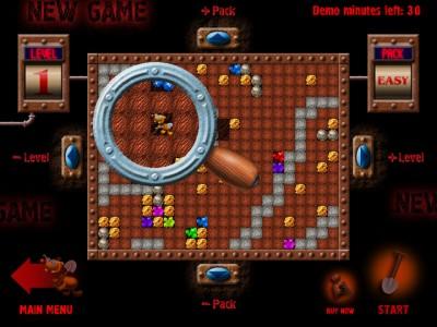 Treasure Mole 1.1 screenshot