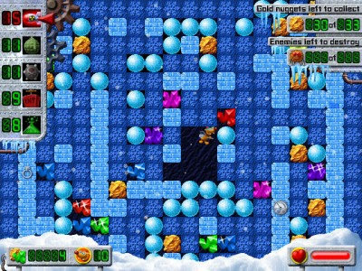 Treasure Mole: Winter Vacation 1.0 screenshot